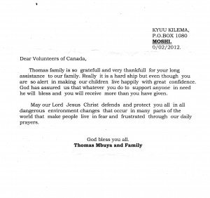 mbuya letter