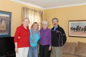 Lynn, Susan, Brenda, Frank